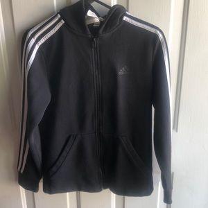 Adidas women's zip up hoodie sweater